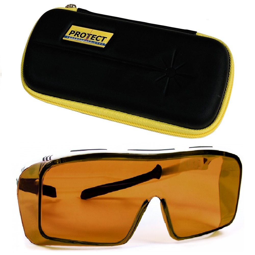 Lunettes de Protection Laser Nd:YAG 1064 nm + KT 532 nm