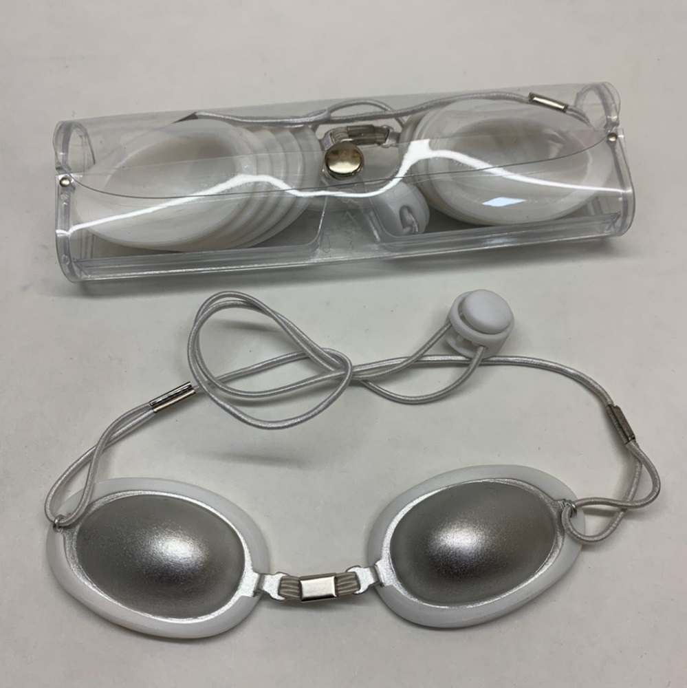 Protection Laser Patient Eye-Shield Alu